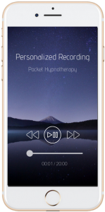 personalised recording RTT hypnotherapy